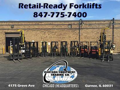 Used Forklifts for Sale in Illinois
