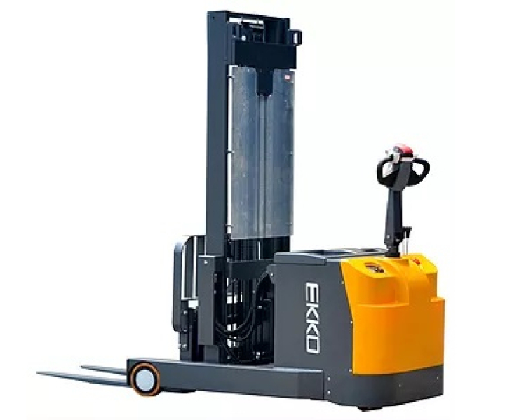 EKKO EH15T Moving Mast Walkie Reach Truck