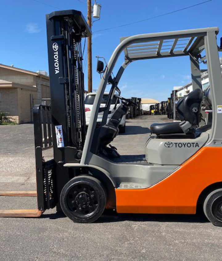 EKKO EK13A Three Wheel Electric Forklift