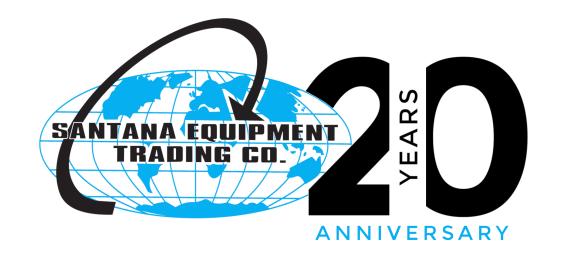 Santana Equipment Trading Company (20th Anniversary)